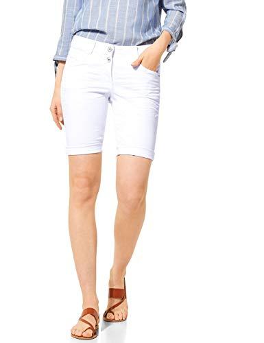 Cecil Damen 373119 Scarlett Shorts, White Denim, 31