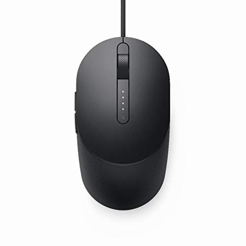 Dell Laser Wired Mouse - MS3220 Black, MS3220-BLK (Black)