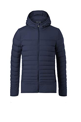 KJUS Men Blackcomb Stretch Hooded Jacket Blau, Herren Daunen Jacke, Größe 52 - Farbe Atlanta Blue