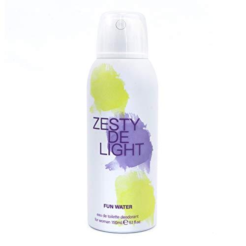 Fun Water - Zesty Delight Déodorant en vaporisateur pour femme, 150 ml
