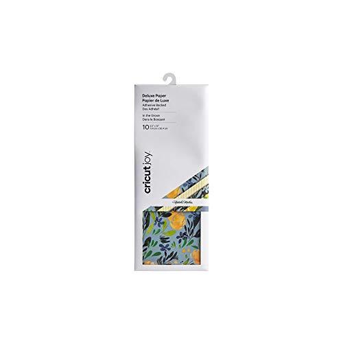 Cricut Joy-Kraftpapier mit selbstklebender Rückseite, Natalie Malan in the Grove, 10 Stück