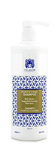 Valquer Profesional Champú profesional fortalecedor con AloeVera, biotina y queratina vegetal - 1000 ml