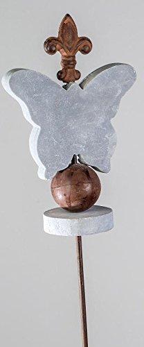 formano Jardin en métal Motif papillon, 115 cm