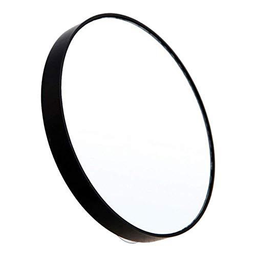 Lot de 10 miroirs grossissants, 13 cm, miroir de maquillage, cosmétiques, miroir rond avec ventouses pour maquillage, rasage, pinces, points noirs/défauts