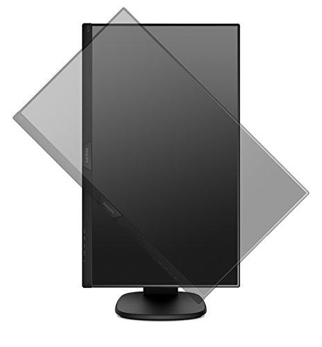 Philips 243S7EHMB - 24 Zoll FHD Monitor, höhenverstellbar (1920x1080, 60 Hz, VGA, HDMI) schwarz