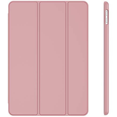 JETech Hülle für iPad 8/7 (10,2 Zoll, Modell 2020/2019, 8./7. Generation), Auto Schlafen/Wachen, Rosa