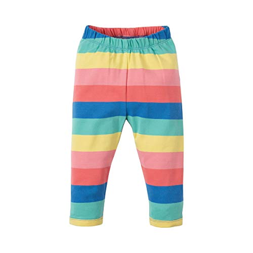 Frugi Libby Striped Leggings 3-6 Months