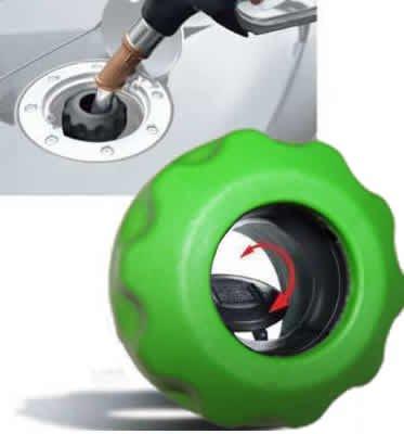 Easycap Hellgrün Tandeckel Tanken wie in der DTM und Formel 1 Schraubverschluss