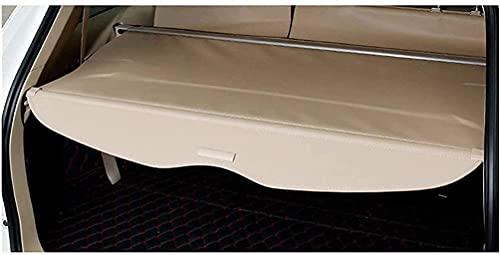 Retrattile Copribagagliaio Copertura per Nissan X-Trail T31, Protezione Coperchio Posteriore Tronco La Privacy, Auto Ripiano Portaoggetti Cargo Cover