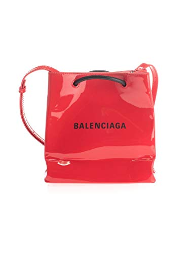 Luxury Fashion | Balenciaga Dames 5724111FE1N6406 Rood Leer Schoudertassen | Herfst-winter 19