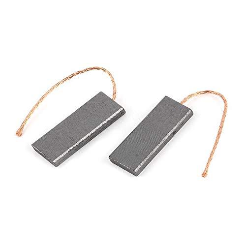 MaoWan 2pcs Cepillos de Carbono Durable Motor Cubiertos de Carbono Tipo de Lavadora Piezas de Lavado/Ajuste para -Siemens / 5x13.5x40mm