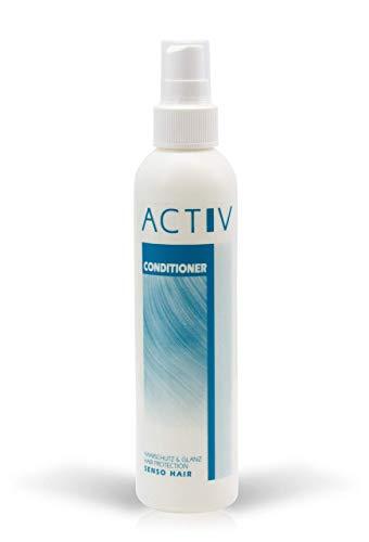 Luttmann gfh ACTIV Conditioner Spray 200ml Pflege für Echthaarperücken, Kunsthaarperücken, Echthaarteile, Haarsysteme, Toupets, Wig, Perücke Echthaar, Haarverlängerungen, Extensions