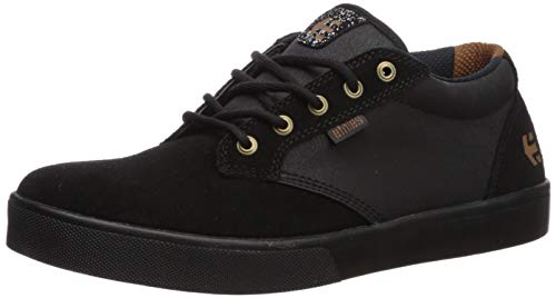 Etnies Men's Jameson MID Crank Skate Shoe, Black, 13 Medium US