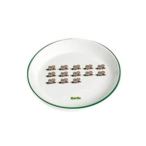 Karlie 44265 Napf Keramik, handbemalt 200 ml ø: 16 cm Motiv Mäuse