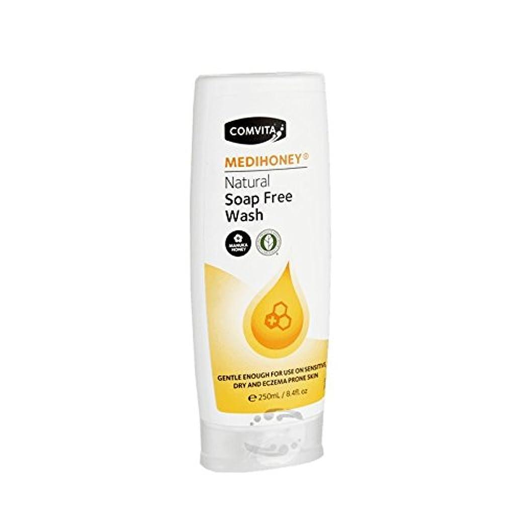 頂点忠実にたくさんのComvita Medihoney Gentle Body Wash 250ml (Pack of 2) - コンビタのメディハニー優しいボディウォッシュ250ミリリットル (x2) [並行輸入品]