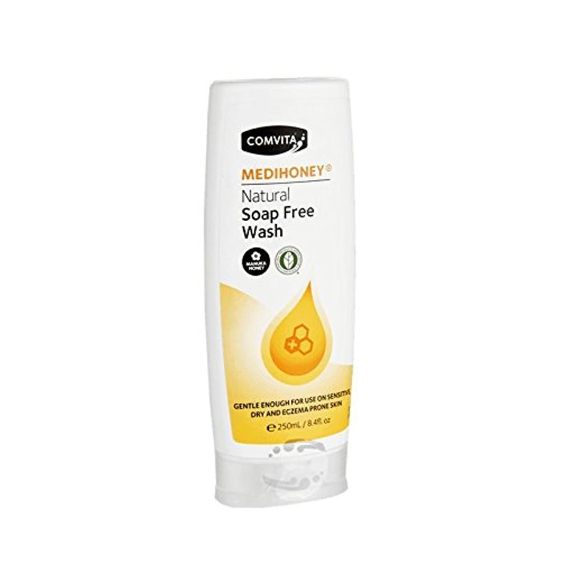 その禁じるComvita Medihoney Gentle Body Wash 250ml (Pack of 2) - コンビタのメディハニー優しいボディウォッシュ250ミリリットル (x2) [並行輸入品]