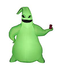 Green Oogie Boogie from the Nightmare Before Christmas Disney Movie Inflatable on Amazon