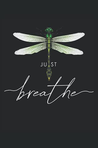 Just dragonfly tattoo motif summer breathe meditation yoga insect: NOTEBOOK - Funny Dragonfly Spring Tattoo Gift, Gift Idea - A5 (6x9) - 120 pages - ... Planner, Birthday, Sweet, Cute, Line Art
