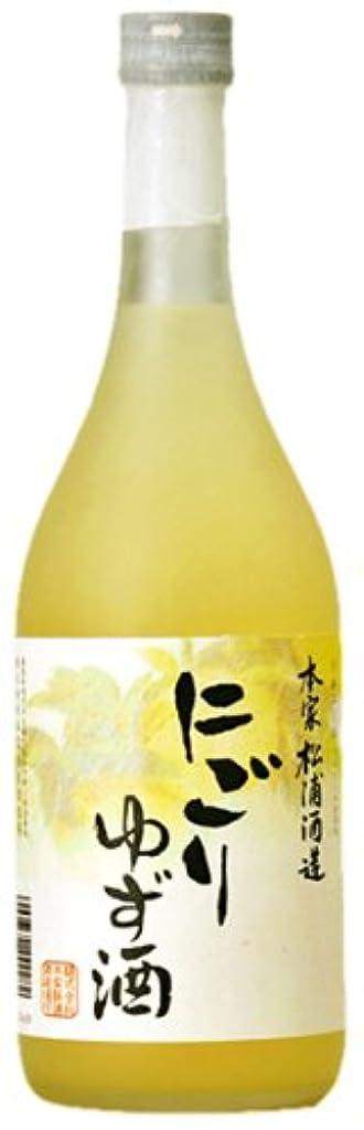 十分に転倒タイル松浦 にごりゆず酒 [ リキュール 720ml ]