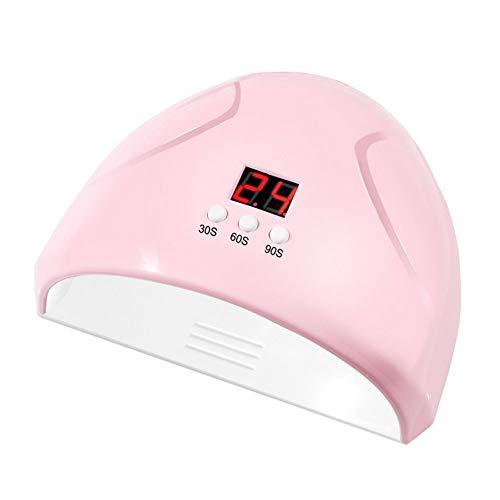 TOPofly Nail LED Lampada UV 36W Intelligente induzione chiodo Polacco del Gel essiccatore Veloce di chiodo UV Macchina Terapia della Lampada per Il Gel Nail Polish Curing Manicure Pedicure Pink
