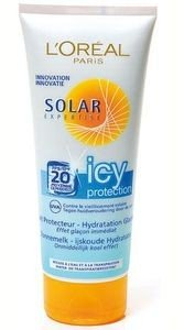 L'Oréal - Solar Expertise - Icy Tube FPS 20 - 200 ml