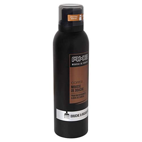 Axe - Gel de ducha para hombre, espuma de ducha, ducha y afeitado, perfume Bergamota y madera de sándalo, 200 ml