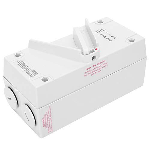 Interruptor manual PA66 ignífugo AC440V a prueba de golpes para control de emergencia para exteriores(CF-4P20A)