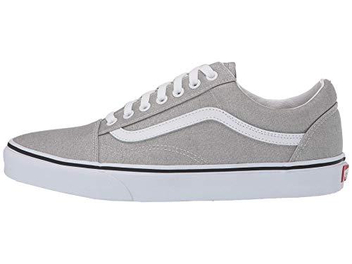 Vans Old Skool Schuh 2020 Silver/True White, 41