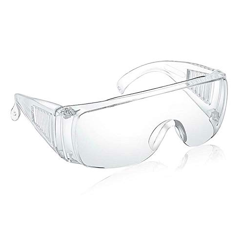 Transparent scratchresistant safety glasses industrial safety glasses splashproof lenses highimpact safety glasses are lightweight and comfortable to wear