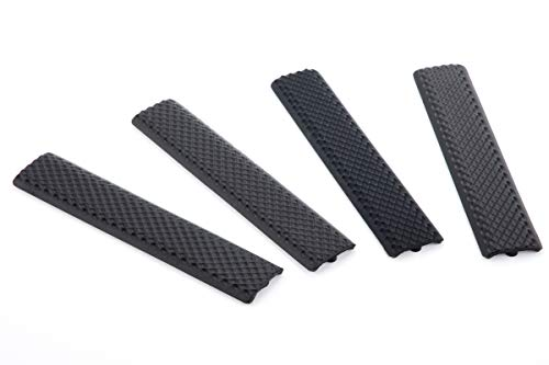 6.25 inch Rubber Keymods Hand Protective Covers - 4pcs