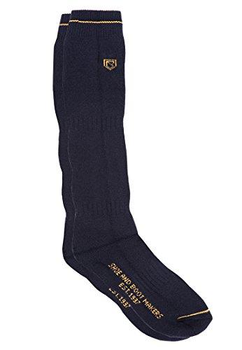 Dubarry Laarzen Sokken Lang Navy - Unisex - Technical sok - Asymmetrische pasvorm. Zacht gebreide lage spanning ribbenpoot en manchetsteun