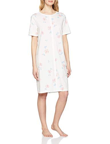 Triumph Damen Timeless Cotton SS19 NDK SSL Nachthemd, Elfenbein (Silk White 00Gz), 38
