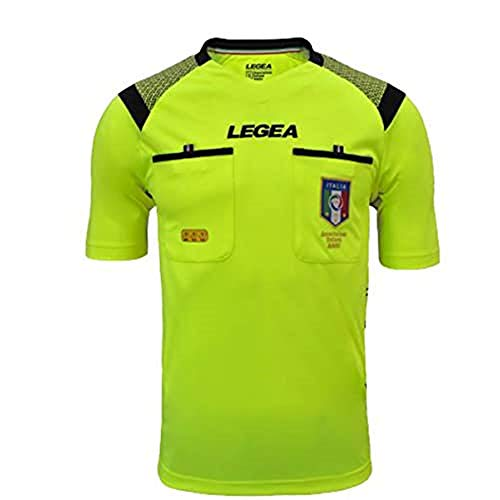 Legea Offizielles Trikot FIGC Aia MC Saison 2019/2020, Herren, M1153, gelb, XL