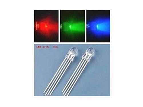 Amazon.co.uk - 10pcs RGB LED common cathode