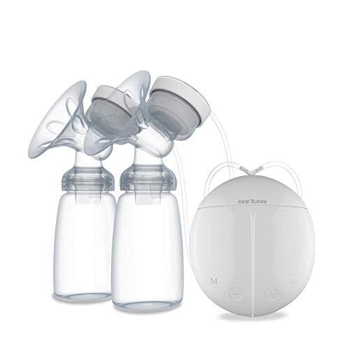 QKP Elektrische Doppelmilchpumpe Niedrige Dezibel Für Baby Stillen Infant Nippel Saug Milchflasche Mutter USB Milchpumpe