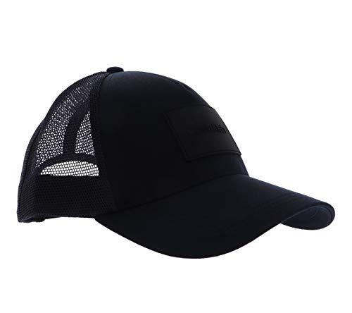 Calvin Klein Herren Trucker Baseballkappe, Ck Navy, Einheitsgröße