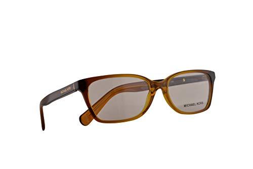 Michael Kors MK 4039 India Brille 52-15-135 Bernstein Farbverlauf Mit Demonstrationsgläsern 3218 MK4039