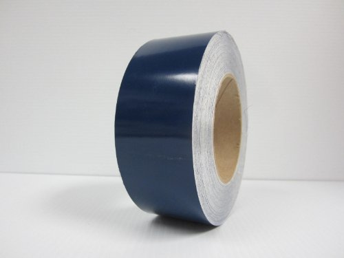 """2"""" 3M Vinyl Striping 150' 25 Colors Available (Dark Blue)"""