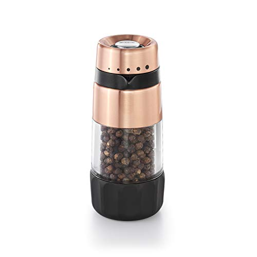 OXO Good Grips Accent Mess Free Pepper Grinder, Copper
