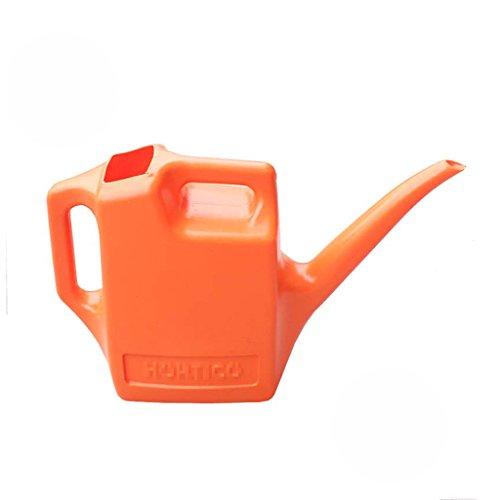 Wddwarmhome L'arrosoir en plastique d'enfant peut 1.5L arroser la maison en pot de plantes en pot (Couleur : Orange)