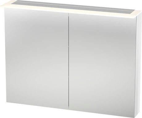 Duravit Spiegelschrank Happy D.2 138x1000x 760mm, 2 Türen, weiss hochglanz, H2759502222