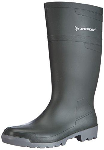 Dunlop Unisex-Erwachsene W486711 Hobby Knie GROEN 45 Gummistiefel, Grün 08, EU