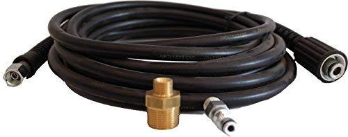 Lavor 6.010.0017 - Tubo Alta Pressione/Prolunga Tubo Alta Pressione, Per Idropulitrici Lavor ad Acqua Fredda Linea Hobby, Nero, 6 Metri