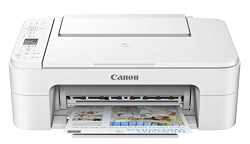 Canon Pixma TS3320 White, Works with Alexa