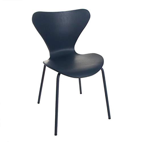 Home Gadgets Applied Chair Green Blue 82 cm