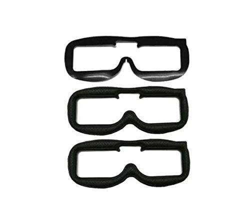 LaDicha 2pcs reemplazo de la Placa Frontal de Cuero de Tela Pad Kit para Fatshark FPV Gafas