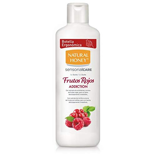 NATURAL HONEY gel de ducha frutos rojos addiction bote 750 m