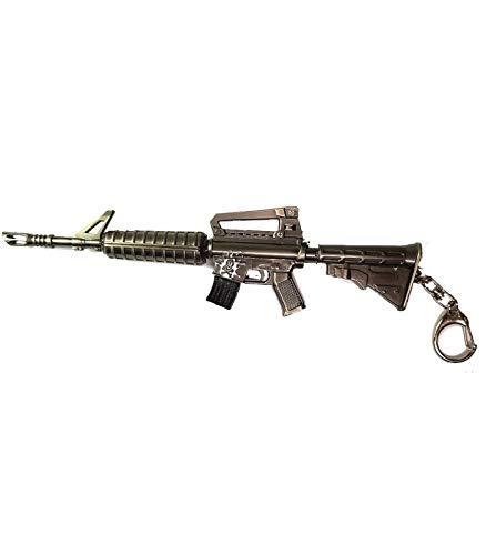 pidak shop Llavero de metal con forma de rifle de asalto...
