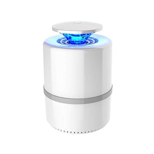 Tritow Elektronischer Moskito-Mörder-Wanze Zapper-Büro-Mückenschutz-Insektenfalle USB trieb LED-Fotokatalysator Nicht chemisch Nicht strahlend for Innen Ourdoor kampierende Küche an (Color : Weiß)