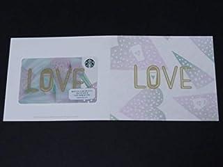 スタバ 2019 バレンタイン LOVE スタバ カード ケース付き ハート 海外 スターバックス [並行輸入品]